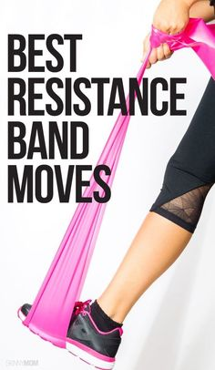 7 Epic Exercises with Resistance Bands Total-body resistance band workout! Best Resistance Bands, Resistance Band Exercises, Strech Band Exercises, Hip Strengthening Exercises, Balance Exercises, Fitness Motivation, Senior Fitness, Moda Fitness, Rogue Fitness