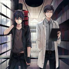 Yukio and Rin!