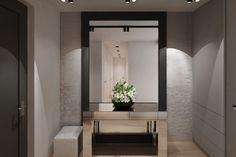 Moderný elegantný vstupný priestor Oversized Mirror, Furniture, Home Decor, Decoration Home, Room Decor, Home Furnishings, Home Interior Design, Home Decoration, Interior Design