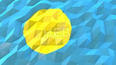 Stock Footage in HD from $19, Flag of Palau 3D Wallpaper Animation, National Symbol, Seamless Looping bi-directional Footage...,  #3d #abstract #Animation #background #banner #blow #breeze #computer #concept #country #design #digital #fashion #flag #fold #footage #generated #glossy #illustration #Loop #low #material #modern #mosaic #motion #Move #nation #National #origami #Palau #perspective...