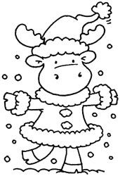 All Riley Images Coloring Pages For Kids Moose Baby