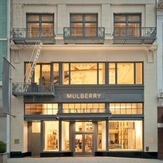 Mulberry Opens Its Second U.S. Store : in San Francisco