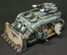 40k Hobby Blog: Sons of Horus Razorback, is it Forgeworld or some other customized kit?