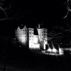 A spooky, yet beautiful view of the Mercer Museum in Doylestown taken by Helen Brown.