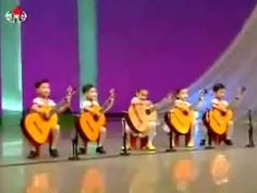 Young North Korean Children Playing Guitar on Stage, holy cow really? they make me look stupid Kinds Of Music, My Music, Korean Children, Young Children, Kids Got Talent, Juke Box, North Korea, Guitar Lessons, Playing Guitar