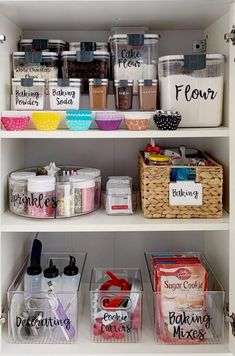 Kitchen cabinet organization ideas are by far the most searched organizing inquiry on the internet. Luckily we've found the best ideas available! #kitchendesign #kitchenorganizing