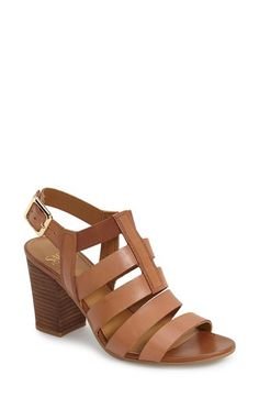 Franco Sarto Franco Sarto 'Montage' Leather Sandal (Women) available at #Nordstrom