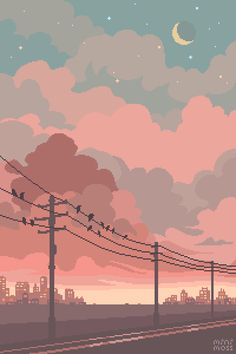 Anime Scenery Wallpaper, Aesthetic Pastel Wallpaper, Cute Anime Wallpaper, Aesthetic Backgrounds, Wallpaper Backgrounds, Aesthetic Wallpapers, Pretty Wallpapers, Live Wallpapers, Animes Wallpapers