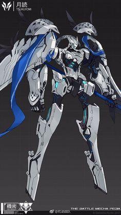 Arte Robot, Robot Art, Robot Concept Art, Armor Concept, Anime Weapons, Fantasy Weapons, Character Concept, Character Art, Character Design