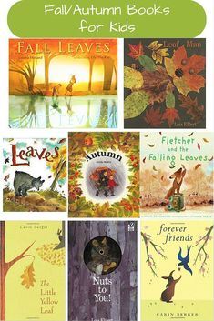 This is such a great list of Fall/Autumn Books for Toddlers and Preschoolers. They are so many sweet ones that we love to read together as a family.   Fall books for kids.