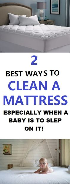 Mattresses contain sweat stains and all kinds of human waste that may build up over a period of time and cause tons of micro-organisms to be growing in the mattress causing odors and an unpleasant sleeping experience. Babies are way more delicate so protect them by doing this... #cleaning #home #cleaningtips #bedroom #decor