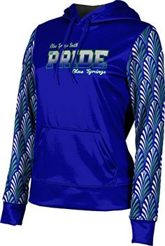ProSphere Womens Blue Springs South High School Deco Pullover Hoodie XSmall * Want to know more, click on the image.  This link participates in Amazon Service LLC Associates Program, a program designed to let participant earn advertising fees by advertising and linking to Amazon.com.