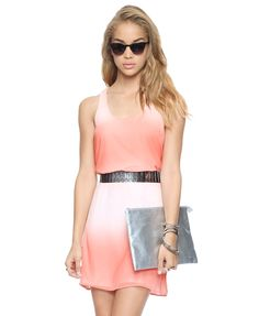 Essential Blushing Shift Dress | FOREVER21 - 2000046586