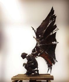 """Gargola Real - Steampunk Fairy Angel """"Gárgola Real"""" by Flavio Zarck"""