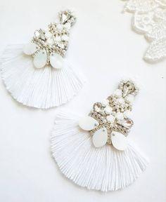 Wedding Earrings Studs, Bride Earrings, Rhinestone Earrings, Bridesmaid Earrings, Tassel Earrings, Chandelier Earrings, Statement Earrings, Stud Earrings, Bridesmaids