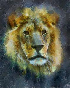 Cats Digital Art - The Lion by Ernie Echols