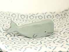This listing is for one whale toy. Please be aware that your whale will vary from the one pictured - each whale is hand cut, ground, and painted so no two are the same! Craft Shop, Handmade Crafts, One Pic, Wooden Toys, Whale, Workshop, Shops, Group, Board