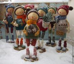 Новый год 2015 ручной работы. Ярмарка Мастеров - ручная работа Torsdag (Четверг) - Новогодняя неделька. Handmade.