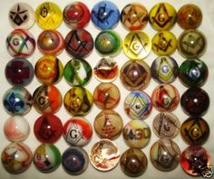 Collectible Marbles | MasonicGlass Marble Collection