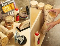 Make your own birch table.