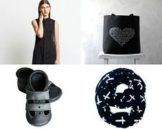Black collection by maya ben cohen on Etsy--Pinned with TreasuryPin.com