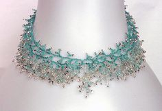 Pattern for a seed beaded necklace detailed instructions beading stitch coral fringe necklace beading tutorial beading patterns diy jewelry