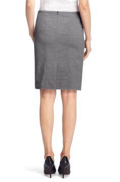 The grey skirt may be the Hugo Boss 'Ranina' wool pencil skirt (£159).
