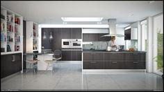 3 Gorgeous open modern kitchen