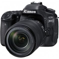 EOS 80D EF-S 18-135mm f/3.5-5.6 IS USM Kit - CA1263C006 Focus with Precision Whether raising your game to SLR level photography or having fun with a feature-rich, versatile SLR you can use pretty much