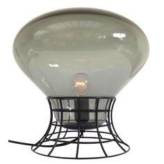 Lampe de table Empatia LED ˜ 36 cm ˜ 36 cm Transparent & blanc