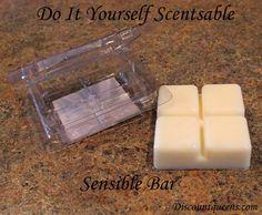 DIY Scentsable Sensible Bar; just like the big brand bars!