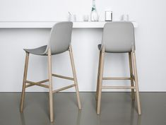 Restoration Hardware Bar Stools for Inspiring Kitchen Stools Ideas: Gray Restoration Hardware Bar Stools With Oak Wood Legs And Floating Table Plus Metal Bar Stools With Backs Also Restoration Hardware Bed