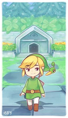 A Minish Cap by Ieafy Click the photo to check out a cool blog! ;)