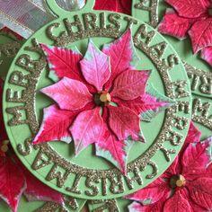 MFT, Sugar Pea Designs Christmas Gift Tags, Christmas Tree, Mama Elephant, Lawn Fawn, Poinsettia, Sugar, My Favorite Things, Holiday Decor, Design