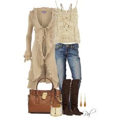 Fun Cardigans, created by pamlcs on Polyvore