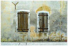 jarrimimram:  Une façade comme je les aime, à Salies-de-Béarn (64).
