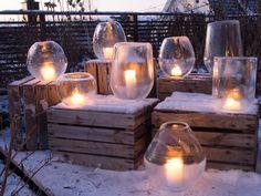 ballongislykt-diy-2. Ice lantern diy using birthday balloons. Video in norwegian.