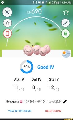 """CP69O 69% Good IV Exeggcute fl / CP 690 / HP 104 / Level 22.0 ,"""" – popular memes on the site iFunny.co #harrypotter #movies #exeggcute #good #iv #cp #hp #level #pic Harry Potter Memes, Popular Memes, Fun Facts, Pokemon, Give It To Me, Faith, Relationship, Teaching, Funny"""