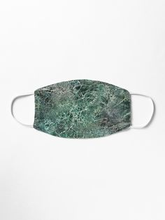 'Emerald green marble photographic pattern' Mask by Marlene Wagenhofer Marble Texture, Green Marble, Make A Donation, Mask Design, Emerald Green, Snug Fit, Aloe, Ear, Artists