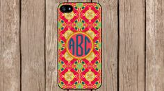 Personalized Monogram Arabian Knights Rose for iPhone 4/4s/5/5s/5c Samsung Galaxy S3/S4/S5/Note 2/Note 3 by TopCraftCase on Etsy, $6.99