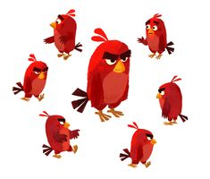The Angry Birds Movie concept art by Pete Oswald