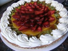 Mis especialidades  Tarta frutal - un manjar al paladar.