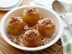 "Get ""stuffed"" with fall goodness with Alton's ""Baker, Baker"" stuffed apples!"
