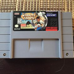 Shared by wunderfulgaming #nes #microhobbit (o) http://ift.tt/2d7HEJm this bad boy is out because I am trading it for a jvc x'eye. Never been a huge fan of the series though I know some people love it #harvestmoon#snes#supernintendo#nintendo#gaming#videogames#retrogames#retrocollective#gamecollection#retrocollectiveus#ninstagram#igersnintendo