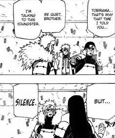 tobirama and hashirama never cease to amuse me XD Naruto Uzumaki, Anime Naruto, Madara And Hashirama, Kakashi, Naruto Sasuke Sakura, Naruto Comic, Anime Manga, Naruhina, Naruto Quotes