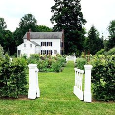 Clove Brook Farm, Hudson Valley... A beautifully renovated 19th century farmhouse - the weekend home of Cristopher Spitzmiller  Image via @quintessence