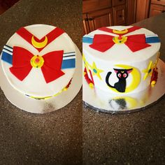 Sailor Moon cake by Jen May Cakes!