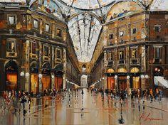 5-Duomo-Milano-Galleria door Kal-Gajoum