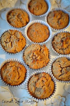 Coconut Spice Muffins #Paleo