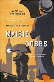 First book in the Maisie Dobbs mystery series. Set in post World War I London. Great feminist protagonist. Part historical fiction.